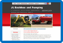 JL Backhoe and Pumping Services